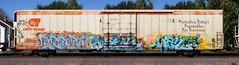 Scum/Arek/Wane (quiet-silence) Tags: graffiti graff freight fr8 train railroad railcar art scum arek wane ba tc5 cod nsf cryx cryo cryotrans reefer cryx5295
