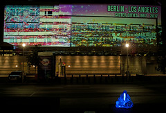 Berlin leuchtet 2016 Guardians of Time (rieblinga) Tags: leuchtet berlin festival of light 2016 botschaft usa guardians wchter der zeit manfred kielnhofer time