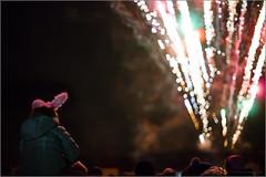 watching the show (mikeyp2000) Tags: rocket night fireworks crowd a99 people heads sky sony firework 5014 dark guyfawkes