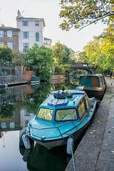(DeepSane) Tags: london regentscanaltowpath boats narrowboats bridge