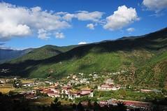 (Edwin Lim Soo Yong) Tags: city bhutan   cloud   architecture   light sunlight  tikusroundtheworld