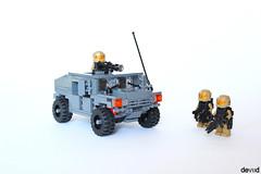 Military Humvee (Devid VII) Tags: high mobility multipurpose wheeled vehicle humvee lego moc military hummer devid vii war hmmwv foitsop minifig minifigs devidvii dbg