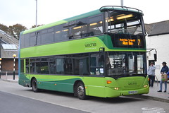 Southern Vectis 1108 HW58ASO (Will Swain) Tags: isle wight 14th october 2016 newport station bus buses transport travel uk britain vehicle vehicles county country england english goahead group go ahead south coast east island green gsc southern vectis 1108 hw58aso