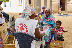 Home-based Caregivers: Champions for Combating Malaria (The Global Fund) Tags: malaria community village child caregiver health worker global fund globalfund kayar senegal disease treatment eradication