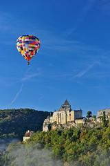 chteau de Castelnaud , Dordogne (jean-marc losey) Tags: france aquitaine dordogne laroquegageac montgolfire chateau medival castelnaud d700