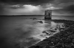 Vanity (Perkvats Havatkov) Tags: eosm le longexposure folly coast shore bw blackandwhite mono castle