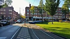 Beginpunt (Peter ( phonepics only) Eijkman) Tags: amsterdam city combino gvb tram transport trams tramtracks rail rails detour omleiding streetcars strassenbahn nederland netherlands nederlandse noordholland holland