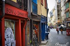 Bon Dimanche (GreenEyes Photography) Tags: rennes greeneyesphotography bird oiseau batiment city ville vilaine eau water banc bleu couleur noir et blanc sepia love couple story