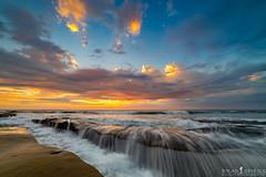 Stormy Sunset (ihikesandiego) Tags: la jolla sunset san diego beach stormy weather