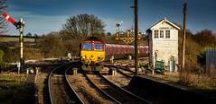 Barnetby East (Peter Leigh50) Tags: barnetby ews dbs class 66 semaphore signal box cabin station