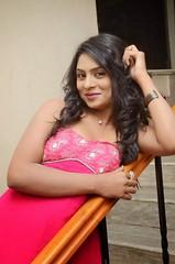 South Actress Deepika Das Hot in Pink Dress- Photos Set-6 (19)
