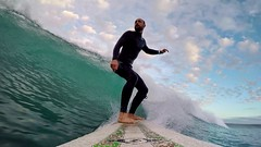20161005 Surfing at the Plage de Goulien (MikeySee) Tags: mikecurdphotography mikeysee mike mikeysee123 curd france brittany bretagne finistere finistére presquile presquiledecrozon surf surfer surfing surfboard sea beach wave waves watersports coast coastline selfie seflie selfy blue goulien plage billabong wetsuit bic longboard 9 9foot gopro goprohero4 hero4 mikecurd instagram