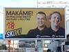 Predvolebná kampaň 2016 (Bratislava Nakrivo) Tags: volby voľby 2016 predvolebna kampan kampaň billboard billboardy nrsr narodna rada parlament skok miskov miškov subak šubák