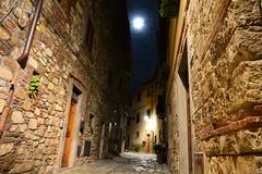 "Selene ""la risplendente"" (michele.palombi) Tags: montefioralle greve chianti toscana moon italia"
