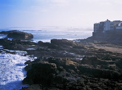 Essaouira/ (13) (xbacksteinx) Tags: bronica rf645 zenzanonrf65mm 65mm 120 medium format rangefinder analog fujivelvia50 rvp e6 expired slide film morocco northernafrica essaouira early morning coast atlantic ocean mood moody