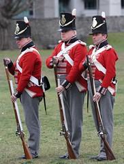 Loading (jmaxtours) Tags: historicfortyork fortyork fort redcoats soldiers toronto torontoontario ontario 10thrvb 10rvb 10throyalveteranbattalion rvb red redcoat bayonet british britishsoldiers reenactors