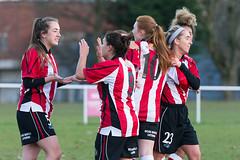 Altrincham LFC vs Stockport County LFC - December 2016-174 (MichaelRipleyPhotography) Tags: altrincham altrinchamfc altrinchamlfc altrinchamladies alty amateur ball community fans football footy header kick ladies ladiesfootball league merseyvalley nwrl nwrldivsion1south nonleague pass pitch referee robins shoot shot soccer stockportcountylfc stockportcountyladies supporters tackle team womensfootball