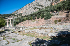 Delphi - Sanctuary of Athena Pronaea 5 (Le Monde1) Tags: greece delphi greek sanctuary athena lemonde1 nikon d800e unesco worldheritagesite archaeological site roman ruins gods pronaea templeofathena