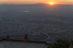 Sunrise over Sofia, 23.07.2015.