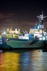 HMS Belfast (MOLIBLOG) Tags: tower bridge river thames hms belfast the shard