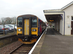 153372 Liskeard (Marky7890) Tags: gwr 153372 class153 supersprinter 2l79 liskeard railway cornwall train looevalleyline