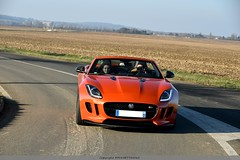 Addictive : Jaguar F Type S (MANETTINO60) Tags: jaguar ftype f type r british britishcar orange firesand color race racing track supercar car coches auto exterieur