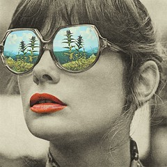 Glasses magiques (Mariano Peccinetti Collage Art) Tags: trip art colors face field collage vintage glasses artwork 60s surrealism surreal retro lsd psycho collageart dreams 70s dada surrealist meditation dope psychedelic cutandpaste dmt vintageart collageartist peccinetti collagealinfinito marianopeccinetti
