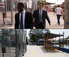 The Wedding Ringer (On Location in Los Angeles) Tags: losangeles location hollywood filming torrance jorgegarcia kaleycuoco kevinhart joshgad affioncrockett mulliganfamilycenter