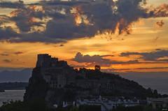 It's almost dawn (Lorenoir) Tags: castle sunrise pentax ischia castello castelloaragonese isoladischia pentaxiani pentaxk50 sunriseatmosphere