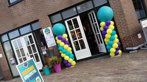 Ballonpilaar Breed Rond Wauw Kinderkleding Stolwijk