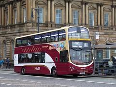 Lothian Buses 954 (SN11EAE) - 26-09-15 (peter_b2008) Tags: buses edinburgh transport wright coaches 953 lothianbuses buspictures volvob9tl eclipsegemini2 morningsidemaisie sn11eac