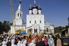 081. Patron Saints Day at the Cathedral of Svyatogorsk / Престольный праздник в соборе Святогорска