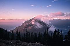 Ebnerjoch (chris-tik) Tags: mist mountain mountains berg fog sunrise austria sterreich nebel alpen sonne sonnenaufgang hdr maurach ebnerjoch