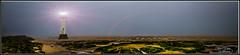 New Brighton Lighthouse (Kev Walker ¦ 8 Million Views..Thank You) Tags: light sea sky panorama lighthouse mist beach fog architecture canon sand rocks widescreen panoramic beam 1855mm hdr wallasey newbrighton merseyside 2015 fortperchrock newbrightonlighthouse kevinwalker canon1100d
