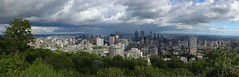 Panorama Montrealu z wzgórza Mont Royal | Panorama of Montreal from Mont Royal