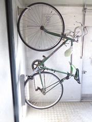 Hanging around (cyclingshepherd) Tags: green portugal bike bicycle train cycling october rad rail railway bicicleta cycle hanging algarve bicyclette velo fahrrad vlo racer olhao olho 2015 refer moncarapacho fuseta fuzeta biscaia cyclingshepherd