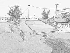 442 SES (KRISTY FOX) Tags: car altered driver oldsmobile superstock 14mile hodrod nostalgiadrags opengas