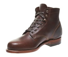 "Wolverine 1000 mile boot brown • <a style=""font-size:0.8em;"" href=""http://www.flickr.com/photos/65413117@N03/22424307981/"" target=""_blank"">View on Flickr</a>"