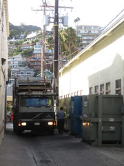 IMG_0355 (Scott (tm242)) Tags: california dumpster truck island volvo catalina garbage rear front load mor avalon pak heil pakmor