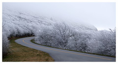 Blue Ridge Parkway Frost (Joe Franklin Photography) Tags: winter mountains cold frost northcarolina carolina blueridgeparkway blueridge wnc brp westernnorthcarolina joefranklin almostanything wwwjoefranklinphotographycom