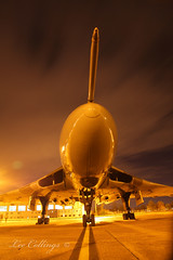 IMG_0444 (Yorkshire Pics) Tags: nightphotography night nightshot aircraft aviation vulcan 1911 doncaster southyorkshire robinhoodairport avrovulcan vulcanbomber gvlcn aircraftatnight doncastersheffieldairport 19112015 vulcanatnight xh558atnight