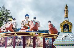 Buddha and disciples (Paul Nicodemus) Tags: travel people mountains rain clouds landscapes skies azure adventure journey solo odyssey assam himalayas valleys unplanned tawang natives bomdila tezpur westbengal arunachalpradesh bumlapass selapass paulartography paulnicodemus
