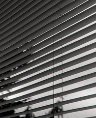 blinds 24 (emily.jones_blachowicz) Tags: light white abstract black film lines architecture analog 35mm emily with traditional grain taken delta super minimal blinds minimalism simple 3200 ilford ricoh kr5 jonesblachowicz emilyjonesblachowicz