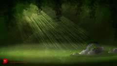 Cry of Achilles: Forest Glade background art