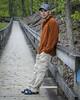 Me at Amicalola Falls approach (robert.aberegg) Tags: park robert tallulah georgia waterfall bald national gorge petroglyph brasstown rabun amicalola chattahoochee 2015 aberegg