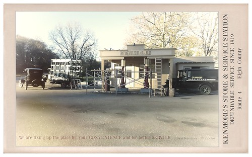 FAUX Gas Station - Variety Store Blotter Ad