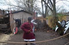 Mittelalter Weihnachtsmarkt 2015 - Zauberkessel Walsrode - Lager Sturvolt - Heike (1) (m_przybilla) Tags: heike schwert walsrode zauberkessel sturvolt waffengang