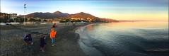giochi in spiaggia (maggy72) Tags: sea italy beach italia mare liguria genova spiaggia childreen arenzano