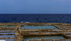 The Saltpans of Gozo (swordscookie back and trying to catch up!) Tags: stone roman salt malta caves pans gozo saracens saltpans phoenicians preroman