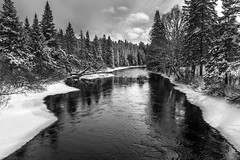 Hiver Tardif (martinmenard757) Tags: bw nikon eau quebec hiver riviere neige paysage glace d610 lanaudiere stcome mpdquebec martinmenard